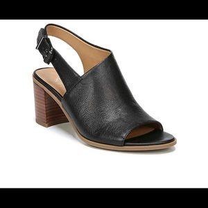 Franco Sarto Harbor Black Sandals